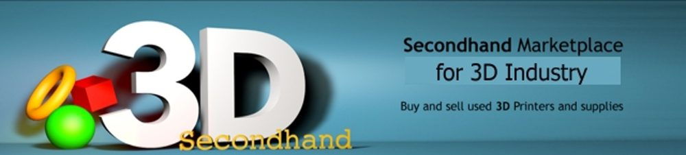 3D Secondhand – 3D Secondhand Marketplace for used 3D